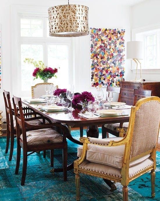 9.monochromatic-overdyed-patchwork-rug-turqoise